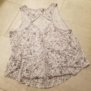 Athleta open back cut out tank top in size large